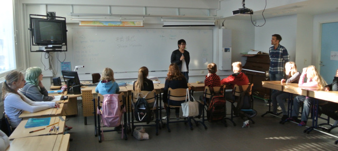 念願のフィンランドの小学校