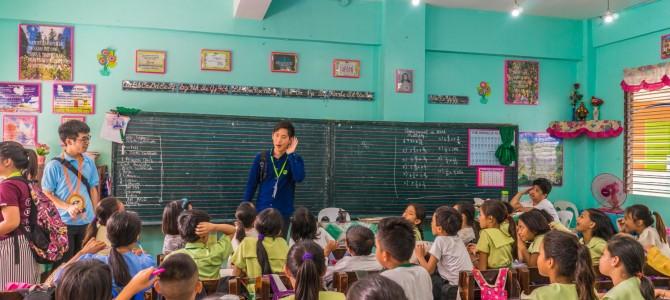 〜子供達と初対面の小学校!〜 GTP3rd day
